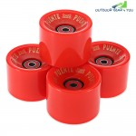 4pcs 70 x 51MM Outdoor Sport Skateboarding Wheel Skate Bearing