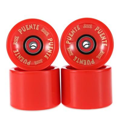 4pcs 70 x 51MM Outdoor Sport Skateboarding Wheel Skate Bearing