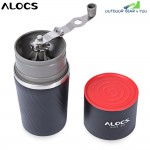 ALOCS CW - K16 4 in 1 Stainless Steel Manual Coffee Machine Camping Home Grinding Equipment