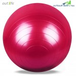 Outlife 65cm PVC Gym Yoga Ball Anti-slip for Fitness Training
