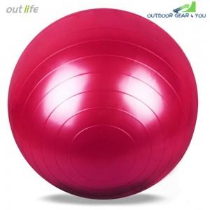 Outlife 65cm PVC Gym Yoga Ball Anti-slip for Fitness Training