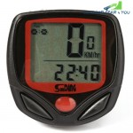 SunDing SD - 548B Outdoor Multifunction Water Resistant LCD Cycling Odometer Speedometer