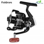 Fishdrops Size 1000 - 7000 Metal Reel Spinning Fishing Tackle with 13BB One Way Clutch