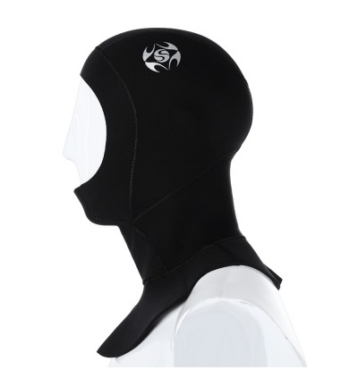 Slinx 1131 3MM Scuba Diving Swimming Warming Hood Cap Wetsuit Water Resistant Face Mask