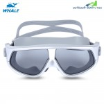 Whale Unisex Swimming Goggles Anti-fog UV Protection Swim Eyewear Glasses