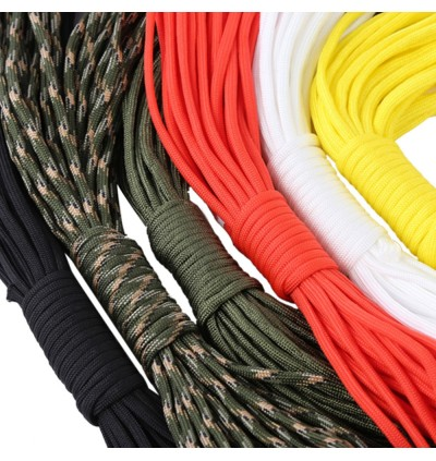 10M 7 Core Paracord String 33FT Camping Hiking Rope Outdoor Survival Tool