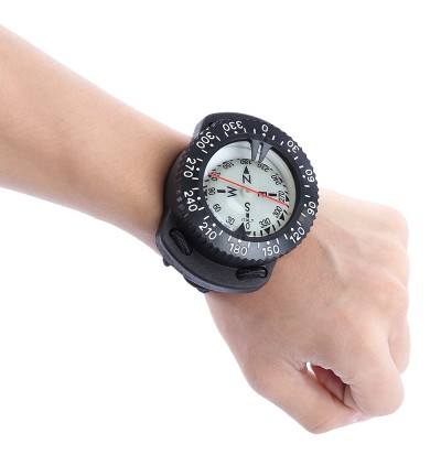 EZDIVE Diving Scuba Wrist Compass Deep Sea Exploring Supplies