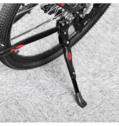 Aluminum Adjustable Bike Side Stick Stand for Road Mountain Bicycle