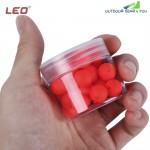 LEO 30pcs Bean Shape EPS Foam Float Ball for Outdoor Fishing