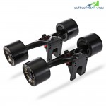 PUENTE 2pcs | Set Skateboard Truck with Wheel Riser Pad