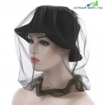 Camouflage Anti-mosquito Bee-proof Face Mask Net Cap Camping Fishing Sunshade Hat