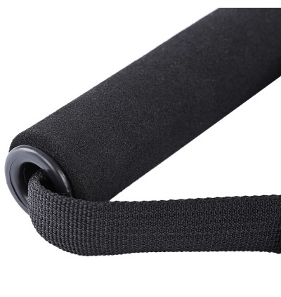 D-ring Spring Pull Rope Cable Bar Elastic String Foam Handle Fitness Equipment