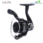 Outlife 5 + 1 Ball Bearing Metal Spool Spinning Fishing Reel