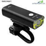 GACIRON V9 USB Rechargeable Waterproof Bike Front Handlebar Cycling LED Light Flashlight Torch Headlight
