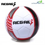 REGAIL Size 5 PU Shooting Star Shape Training Football Soccer Ball