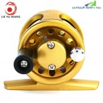 LIE YU WANG 1 + 1BB Ice Flying Raft Fishing Fly Fish Reel Wheel
