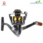 LIE YU WANG 13 + 1 Bearings Double Color Spool Fishing Reel 5.2 : 1