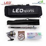 LEO Outdoor Fishing Spinning Reel Rod Kit