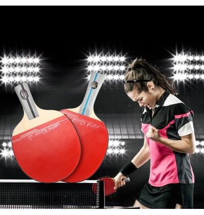 BOER Table Tennis 1 Star Ping Pong Racket Paddle