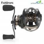 Fishdrops XLSDLCT 17 + 1BB Left | Right Hand Fishing Reel