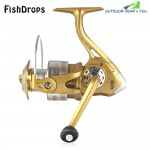Fishdrops 12 + 1BB Left Right Interchangeable Spinning Reel