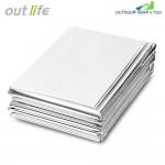 Outlife 210 x 140CM Emergency Survival Mylar Thermal Blanket