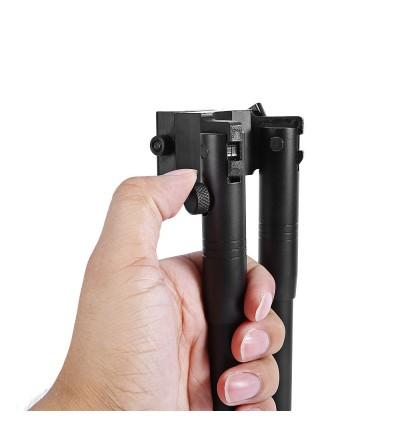 3 - 6 Inch Adjustable Spring Bipod for Hunting