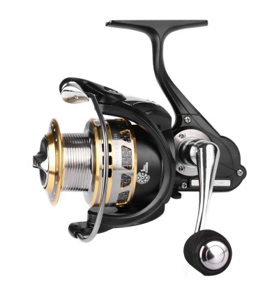 PRO BEROS 13 + 1BB Lightweight Metal Spinning Fishing Reel