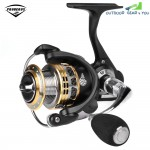 PRO BEROS 13 + 1BB Lightweight Metal Spinning Fishing Reel