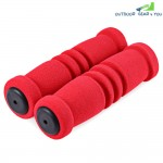 1 Pair Sponge MTB Bike Bicycle Handlebar Cover(Red)