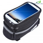 DUUTI Touchscreen Bike Phone Case Bicycle Frame Front Tube Handlebar Bag Panniers