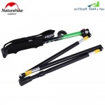 NatureHike 5 Joint Ultralight Folding Alpenstocks Pole Climbing Stick