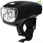 Super Bright Water Resistant 5 LEDs 3 Modes Cycling Bike Front Light Lamp
