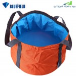 11L Bluefield Portable Folded Washbasin Camping Washbowl Outdoor Sport Accessory(JACINTH)