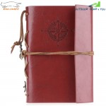 EDCGEAR Retro Leather Notebook Notepad Tactical Field Book with 50 Sheets Water Resistant Paper
