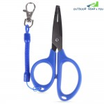 FG - 1020 Light Lure Plier Grip Pincer Nipper Wire Cutter Scissor Fishing Kit