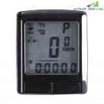 SunDing SD - 565 Outdoor Multifunction Water Resistant Cycling Odometer Speedometer Wireless Heart Rate Monitor