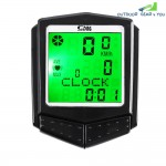 SunDing SD - 573C Outdoor Multifunctional Water Resistant LCD Backlight Cycling Odometer Speedometer Wireless Heart Rate Monitor