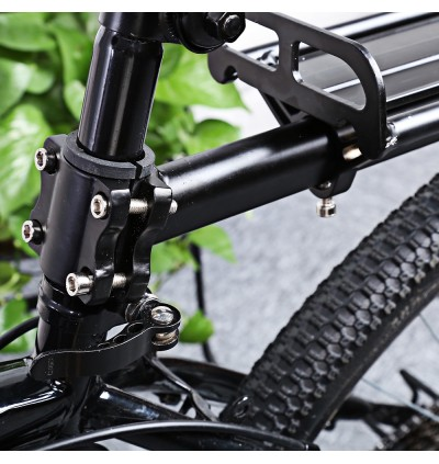 Aluminum Alloy Bicycle Carrier Rear Rack Pallet Shelf Cycling Accessory