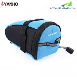 YANHO YA099 Water Resistant Bicycle Saddle Bag Seatpost Pouch Outdoor Cycling Accessories(AZURE)