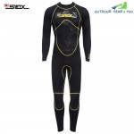 SLINX 1101 Men 3MM High Elastic Full Body Sunblock Diving Suit Wetsuit