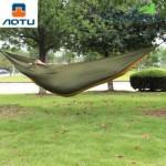 AOTU AT6737 Camping 2-Person Parachute Nylon Fabric Hammock