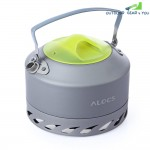 ALOCS CW - K07 0.9L Aluminum Alloy Camping Picnic Coffee Water Kettle