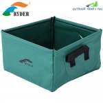 RYDER C3002 Collapsible Folding Washbasin Washbowl Water Pot for Outdoor Travel Camping Hiking