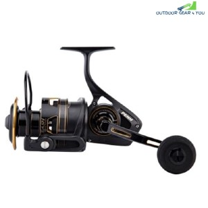 PENN Clash High Value 8+1BB Carbon Fiber Spinning Fishing Reel (BLACK)