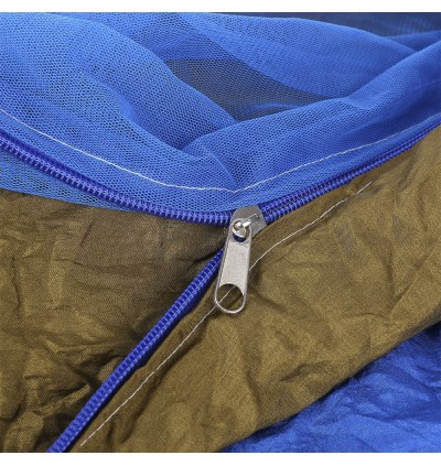 260 x 140CM Indoor Parachute Fabric Mosquito Net Hammock Two People Outdoor Camping Equipment