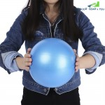 PVC Thickened Air Inflation Anti-Explosion Yoga Ball Fitness Equipment