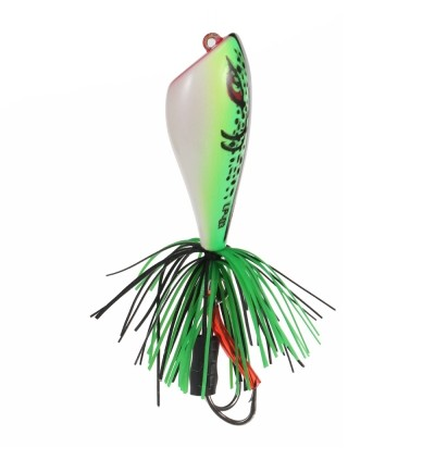 Artificial Frog Lure ABS Plastic Hard Fishing Bait (GREEN)