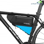 ROSWHEEL 121371 Water-resistant 4L Bike Triangular Bag Bicycle Front Tube Pack