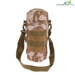 Outdoor Water Bottle Pouch Tactical Kettle Chest Shoulder Bag (DESERT CAMOUFLAGE)